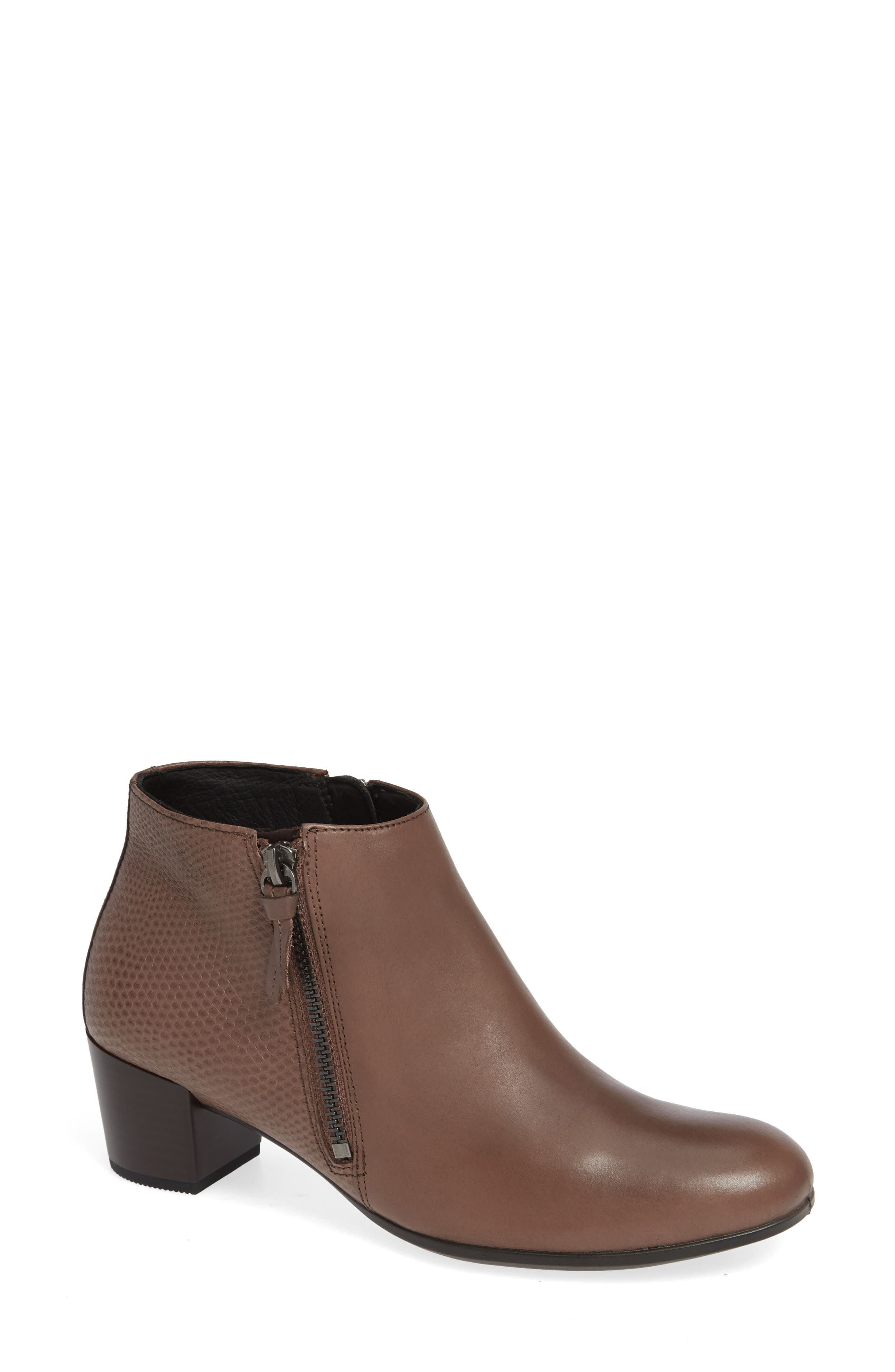 Ecco Shape 35 Ankle Bootie, Grey