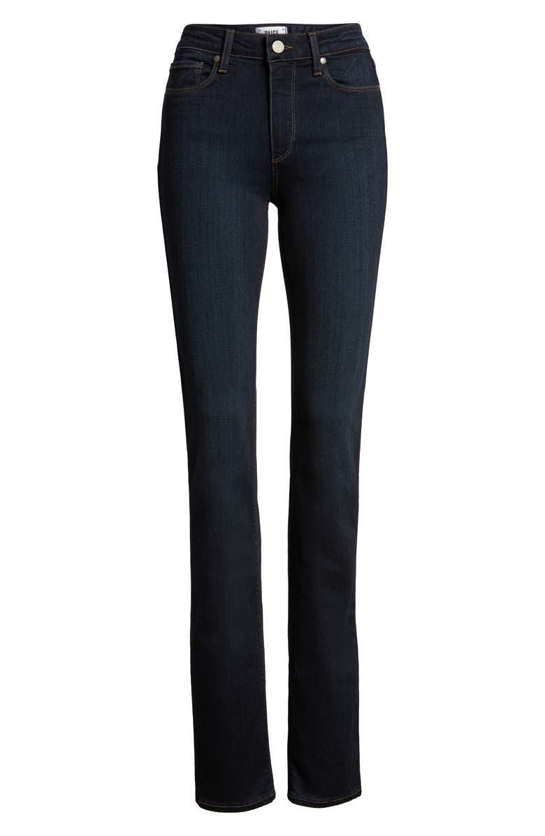 PAIGE Transcend - Hoxton High Waist Straight Jeans, Main, color, MONA