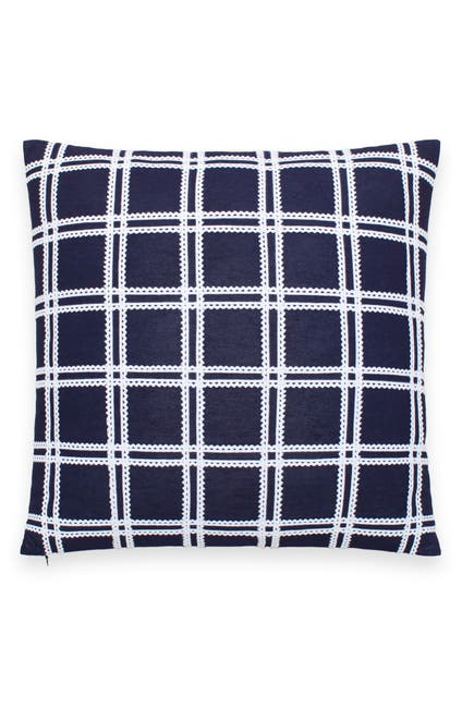 Image of kate spade new york ric rac grid throw pillow