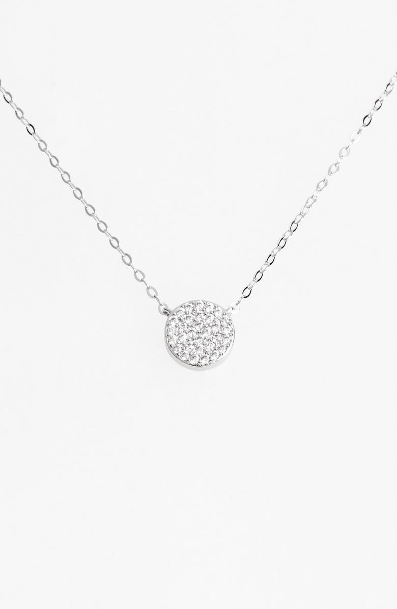 NADRI 'Geo' Small Pendant Necklace, Main, color, 040