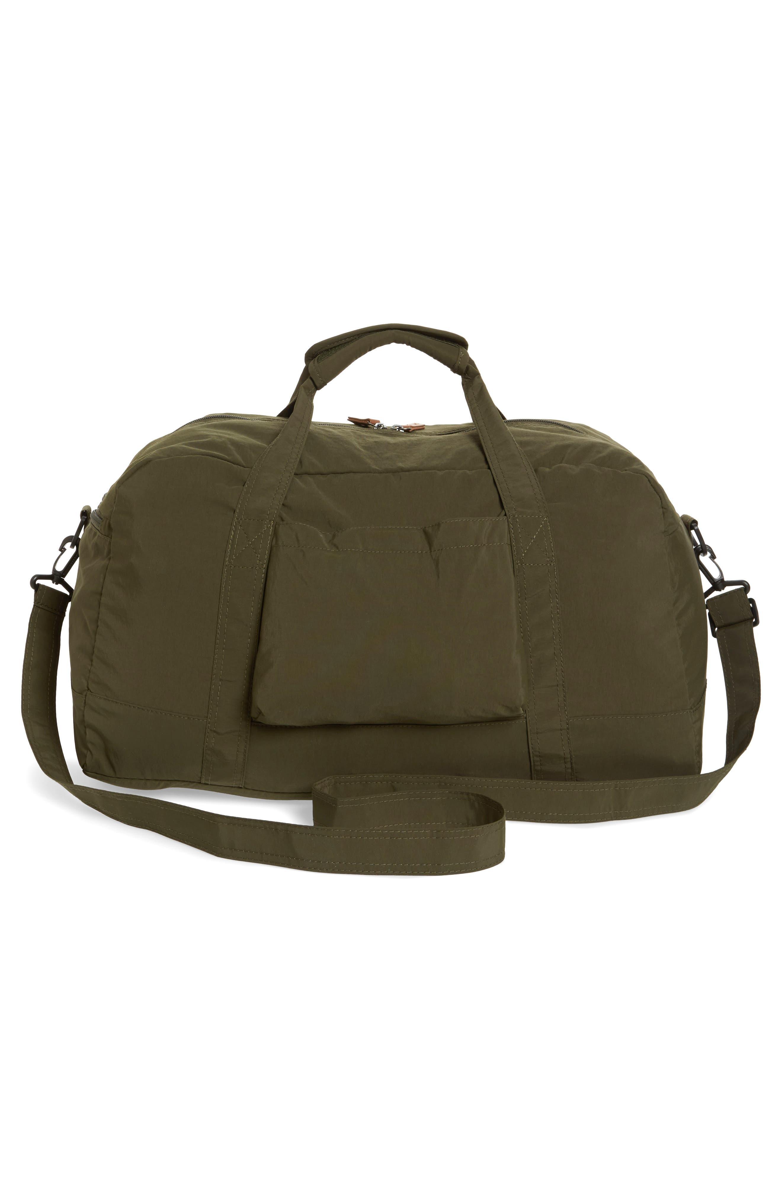 ,                             Banchory Packable Duffle Bag,                             Alternate thumbnail 3, color,                             DARK GREEN