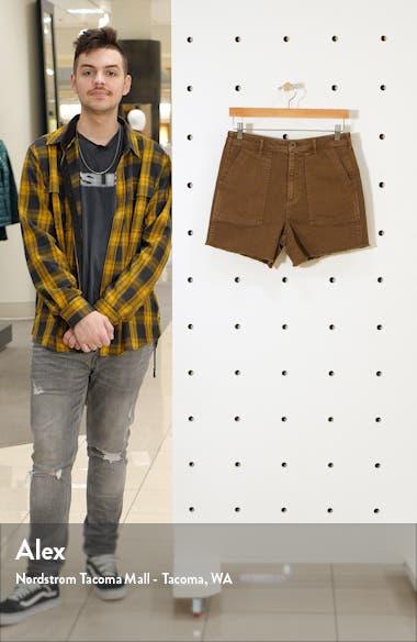 Front Pocket Twill Military Shorts, sales video thumbnail