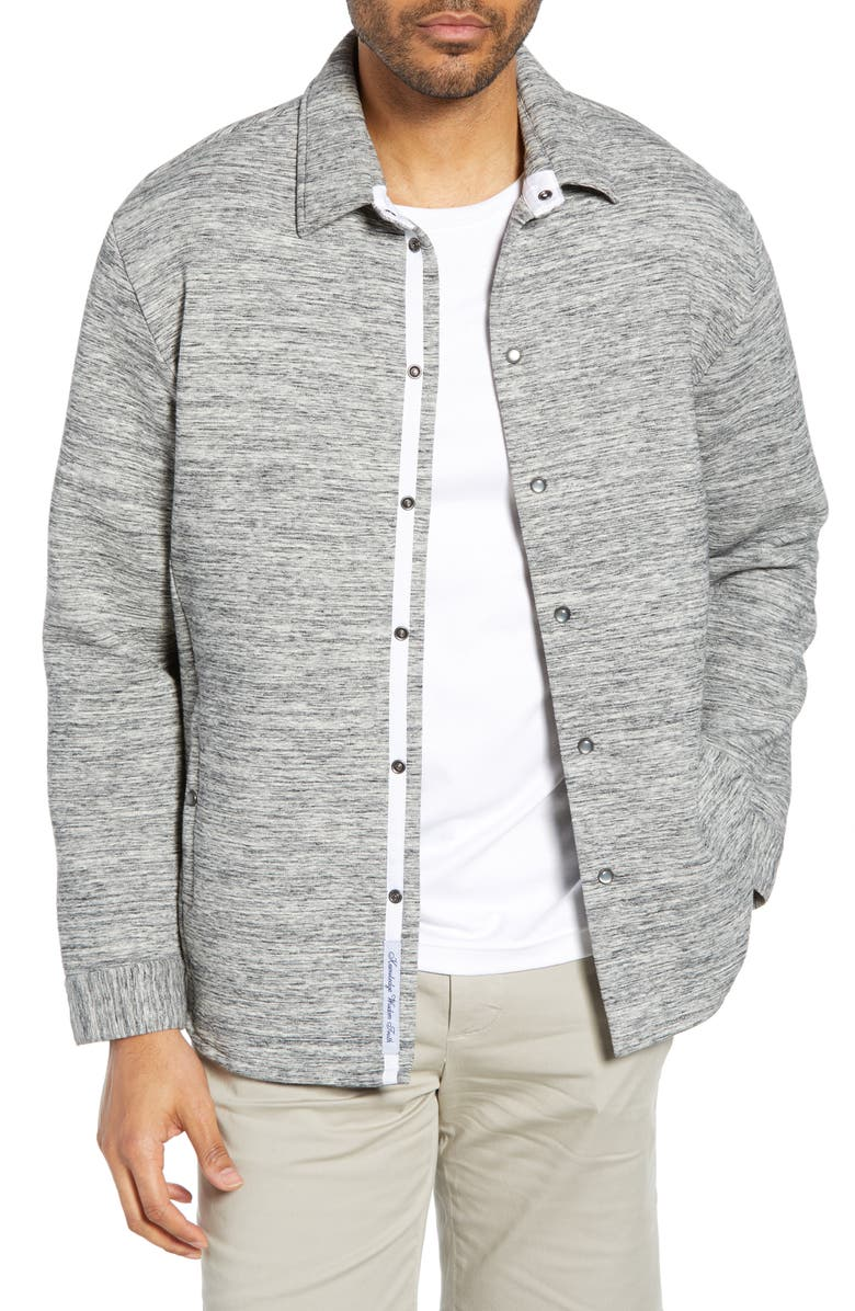 ROBERT GRAHAM Roxton Regular Fit Knit Jacket, Main, color, GREY
