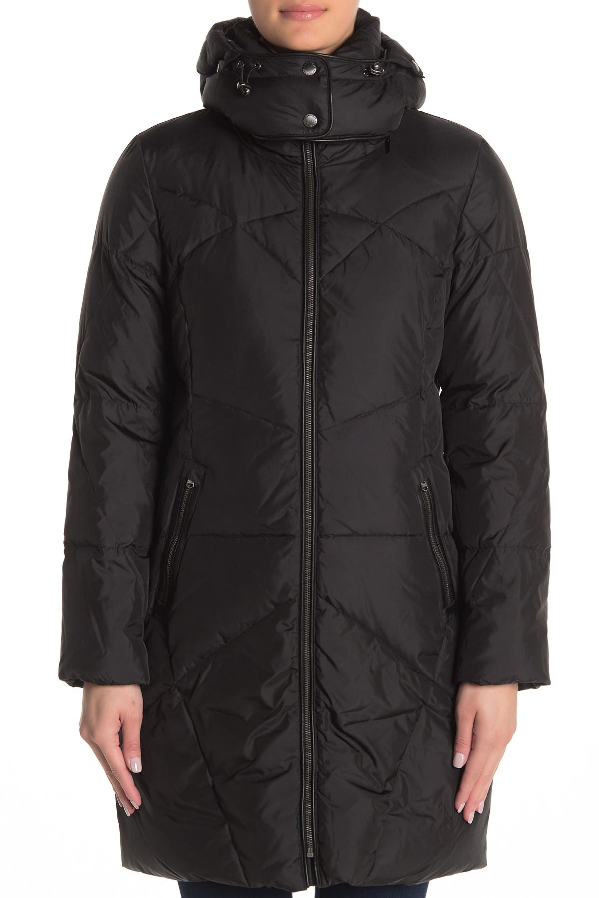 Cole Haan Padded Stitch Puffer Jacket
