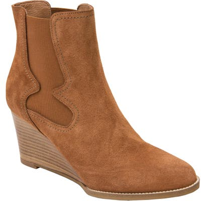Andre Assous Sadie Wedge Chelsea Boot, Brown