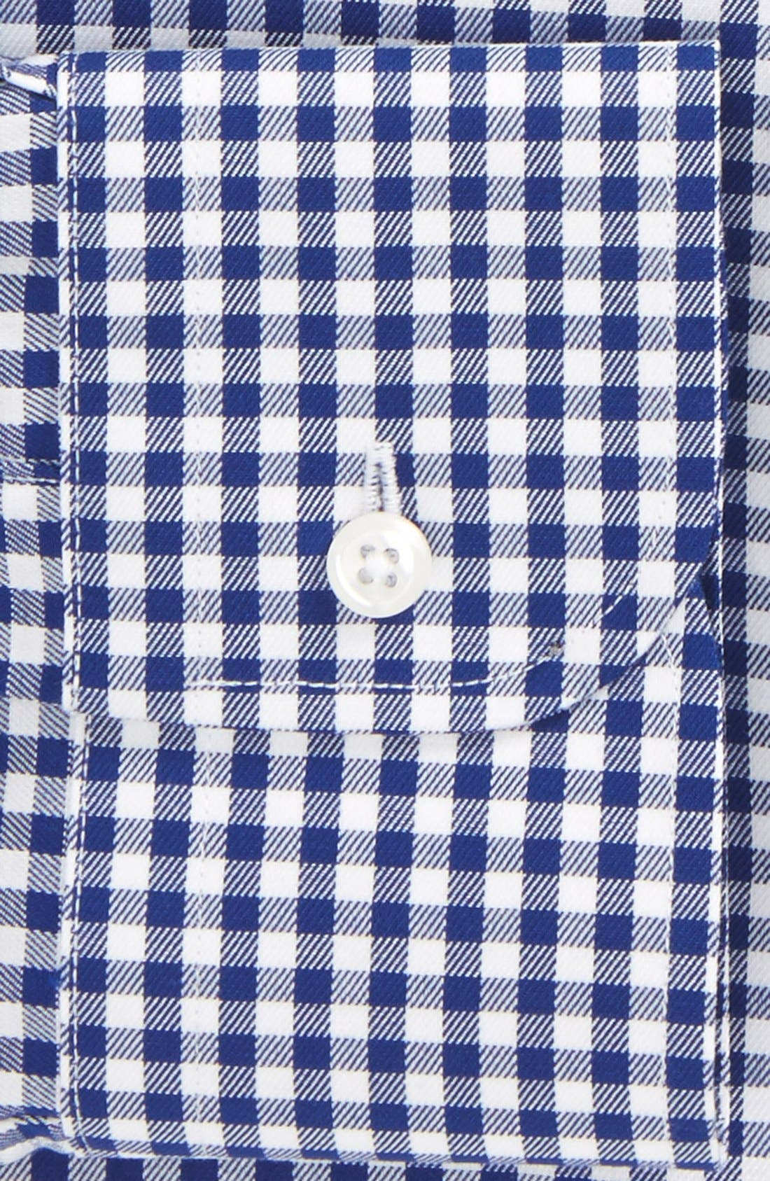 ,                             Traditional Fit Non-Iron Gingham Dress Shirt,                             Alternate thumbnail 12, color,                             401