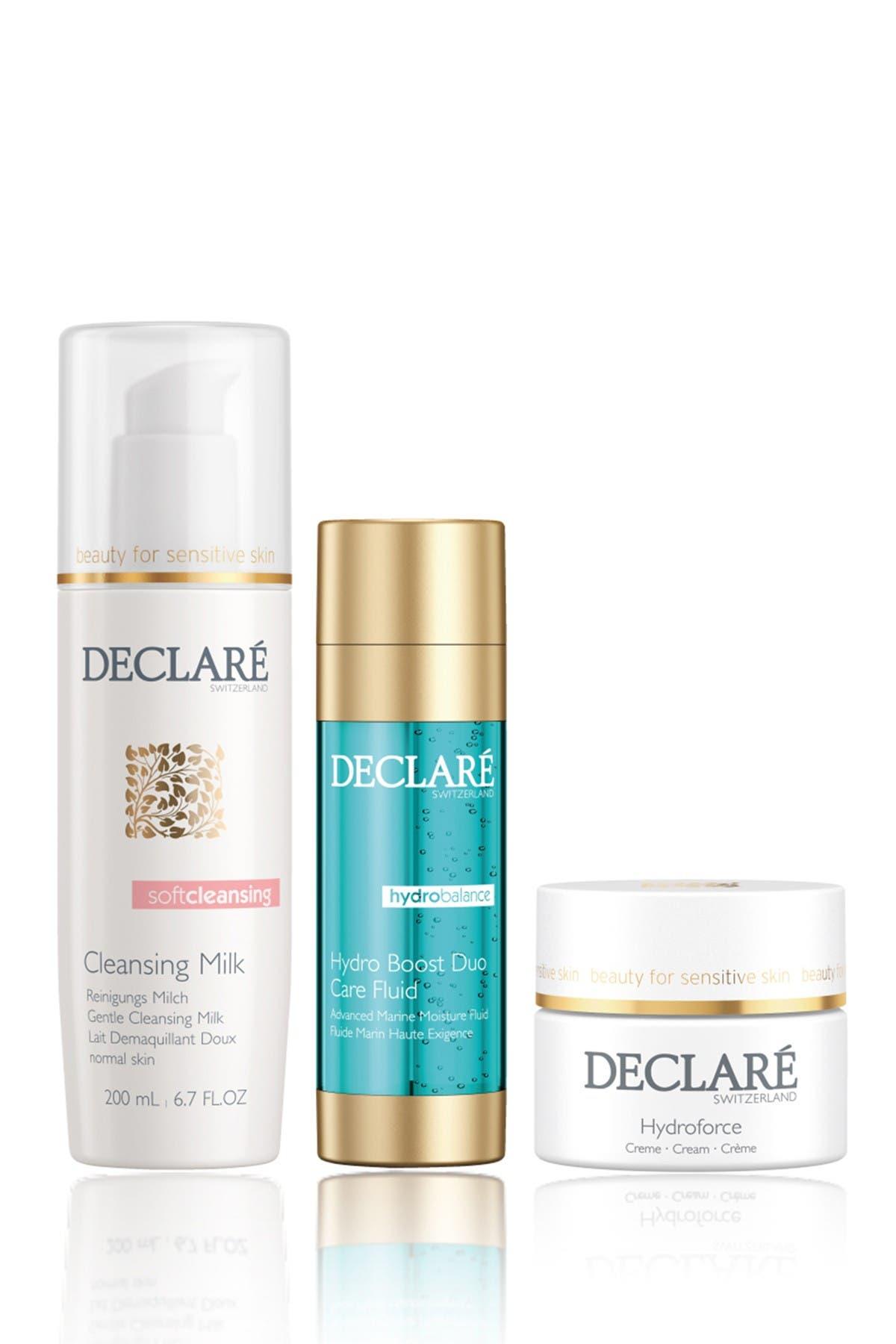 Image of DECLARE Hydro Balance 3-Piece Skincare Set