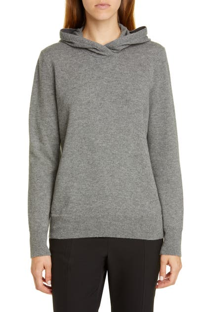 Lafayette 148 Tops WOOL & CASHMERE HOODIE