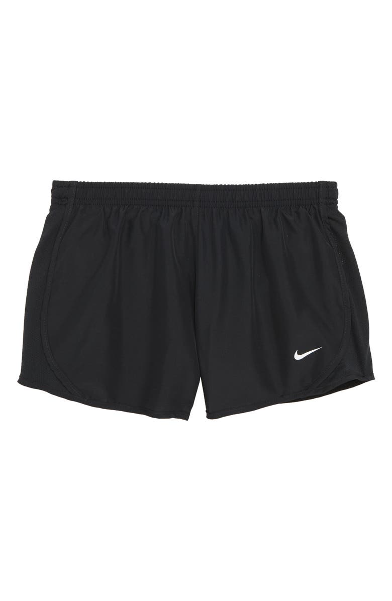 NIKE Dry Tempo Running Shorts, Main, color, BLACK/ BLACK/ BLACK/ WHITE