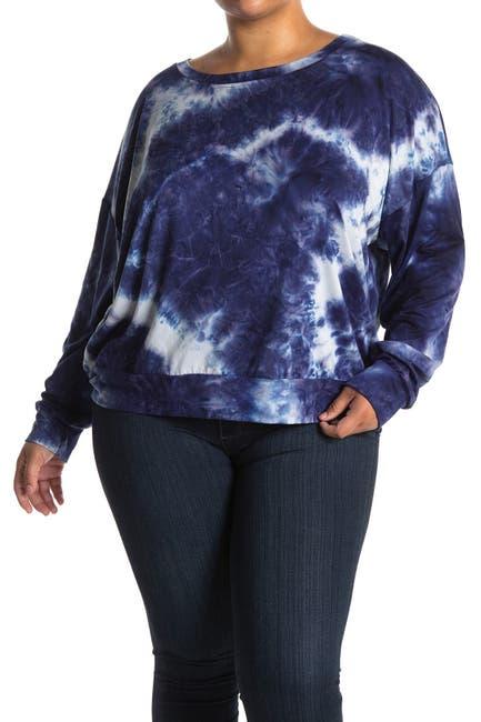 Image of Socialite Tie Dye Boatneck Sweater