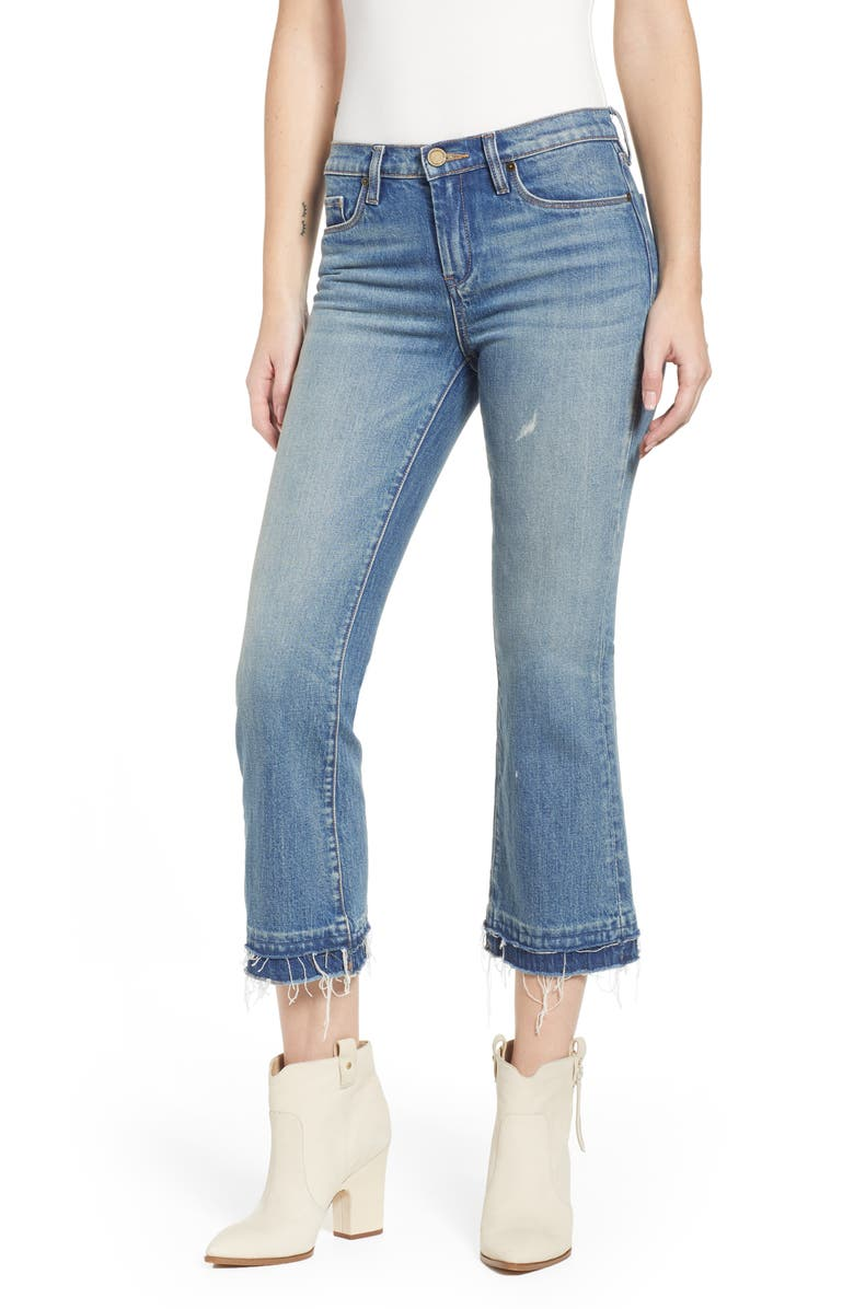 BLANKNYC Step Hem Crop Jeans, Main, color, THE PLASTICS