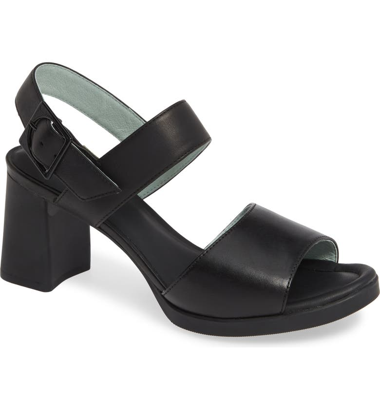 CAMPER Kara Block Heel Sandal, Main, color, 001