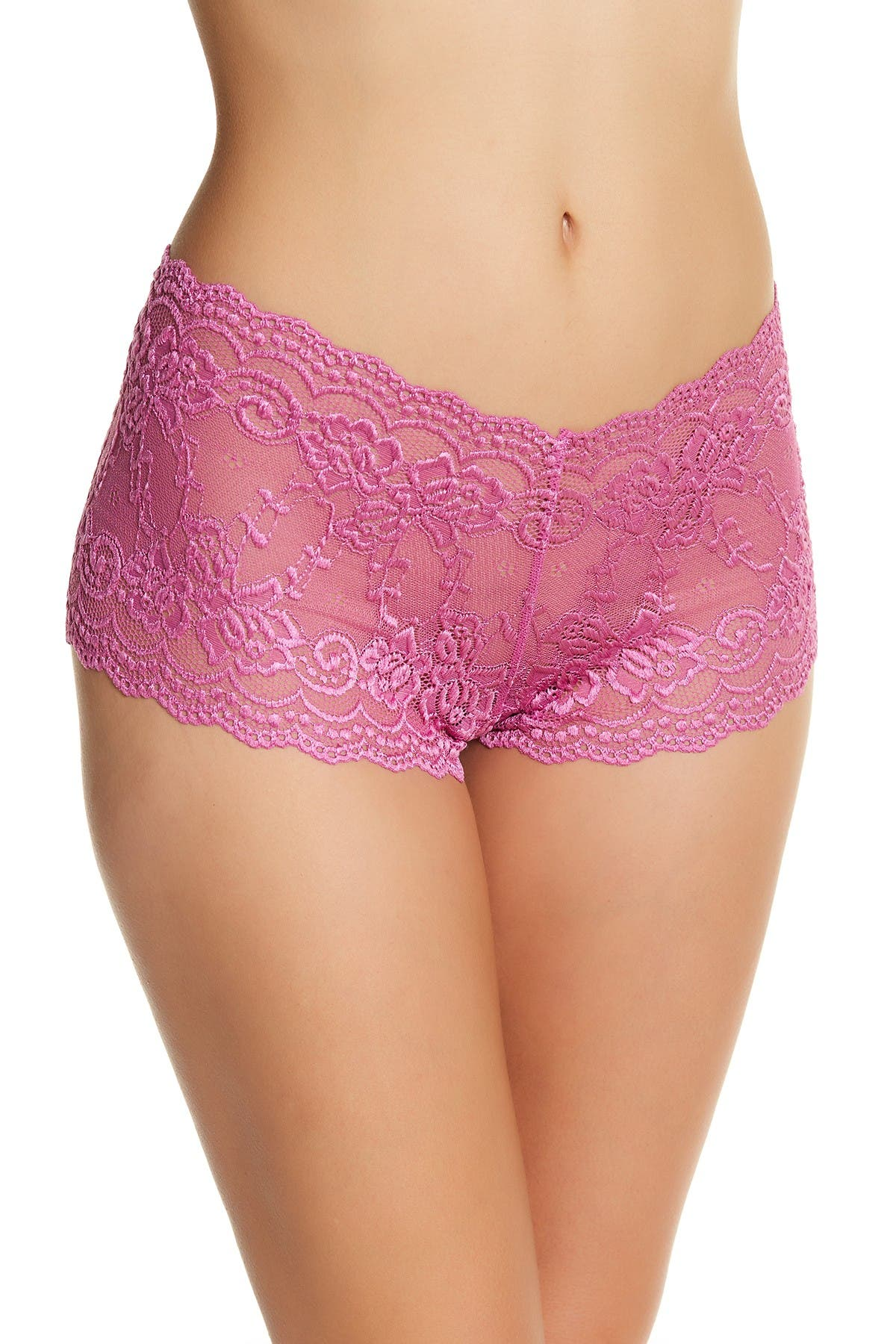 Image of Felina Angela Floral Lace Boyshort