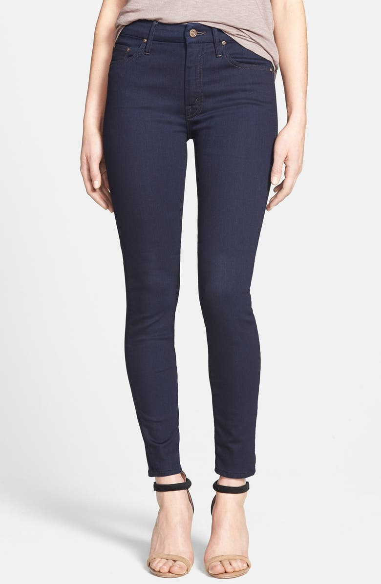 MOTHER 'The Looker' Skinny Jeans, Main, color, 400
