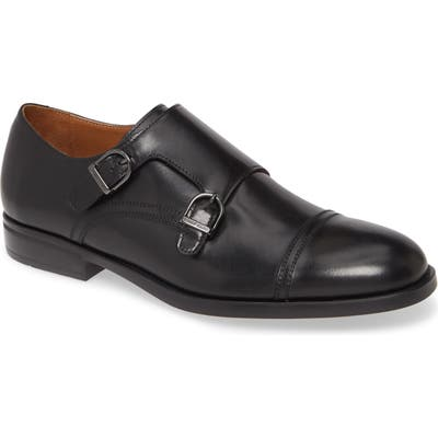 Bruno Magli Barone Double Monk Strap Shoe