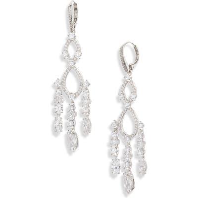 Nadri Plus One Chandelier Drop Earrings