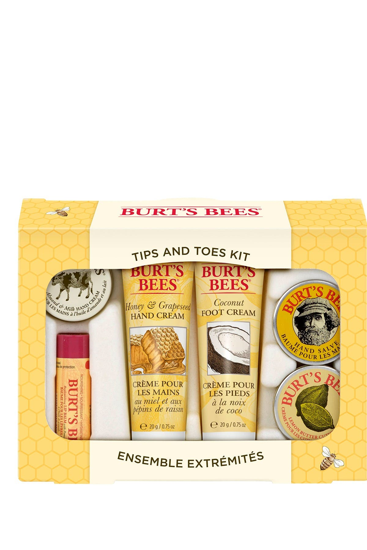 Image of BURT'S BEES Tips & Toes Kit