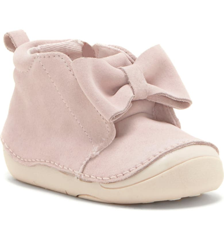 SOLE PLAY Giana Bow Bootie, Main, color, FAIRY PINK