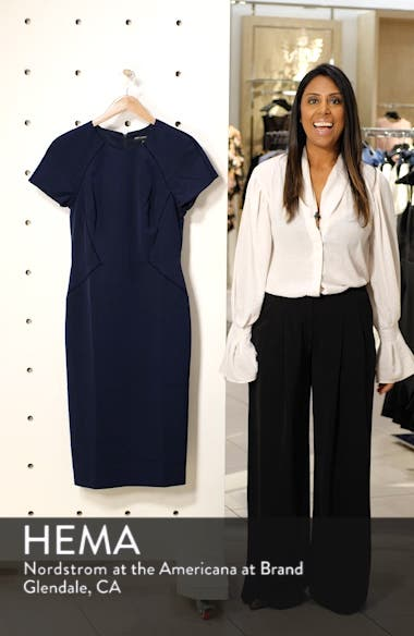 Ladder Trim Sheath Dress, sales video thumbnail
