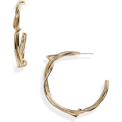 Faris Large Tangle Hoop Earrings