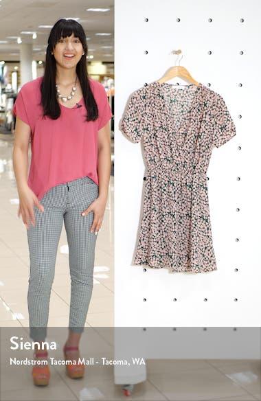 Floral Short Sleeve Dress, sales video thumbnail
