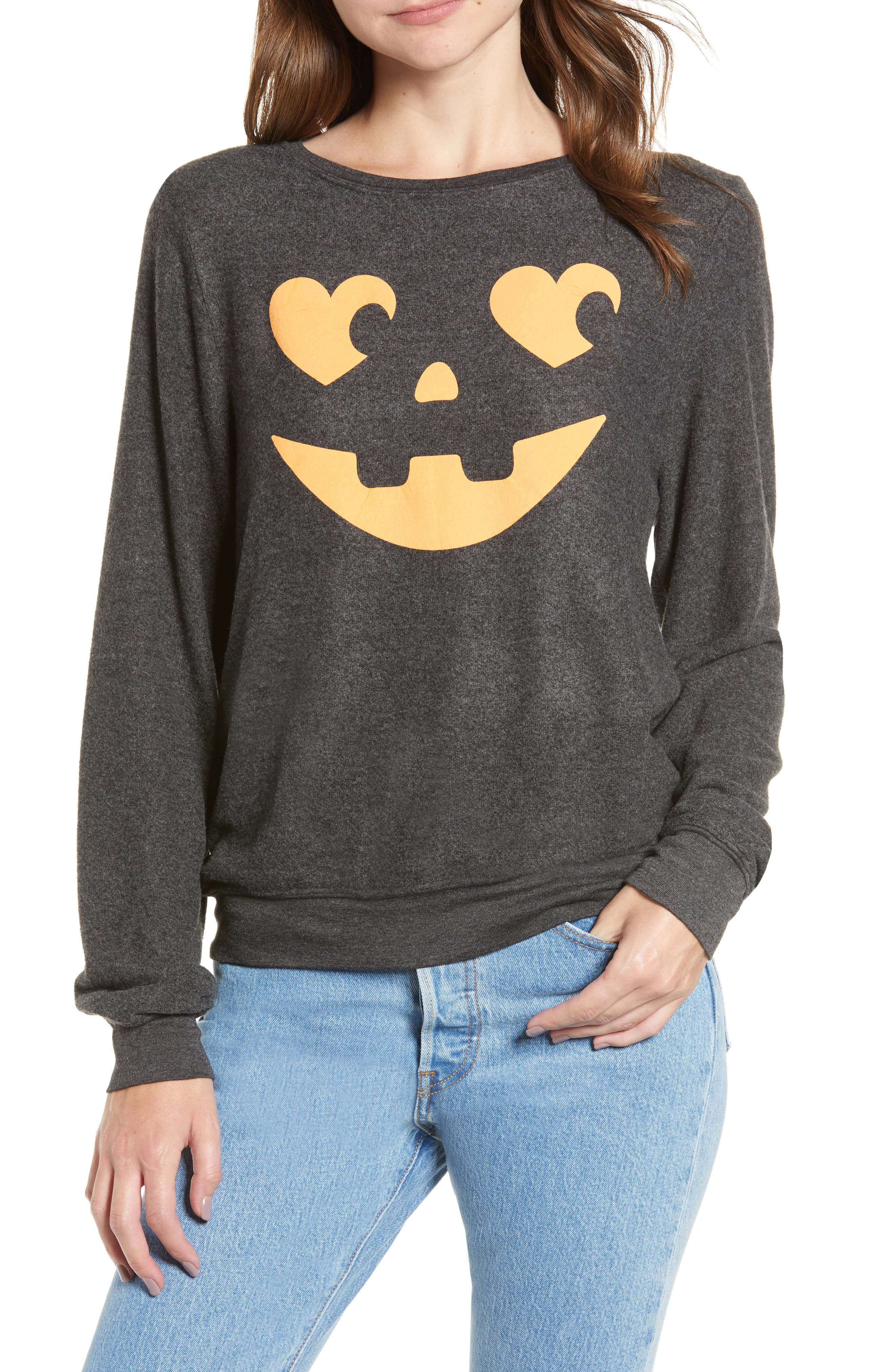 Image of WILDFOX Jack O' Hearts Baggy Beach Jumper Pullover