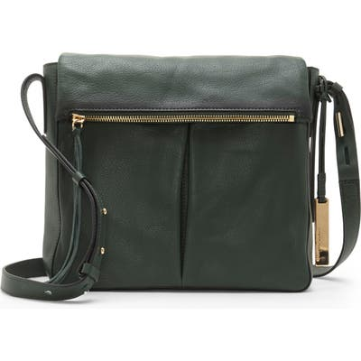 Vince Camuto Miles Leather Crossbody Bag - Green