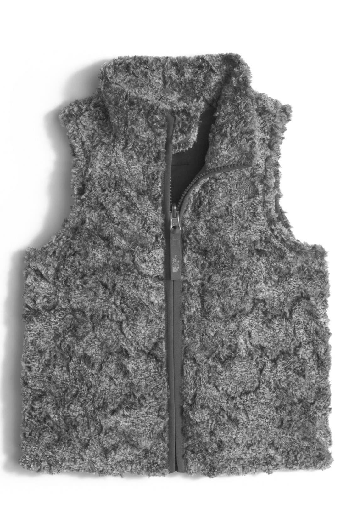 Toddler Girls The North Face Cozy Swirl Vest Size 2T  Black