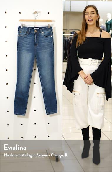 Ellie High Waist Skinny Jeans, sales video thumbnail