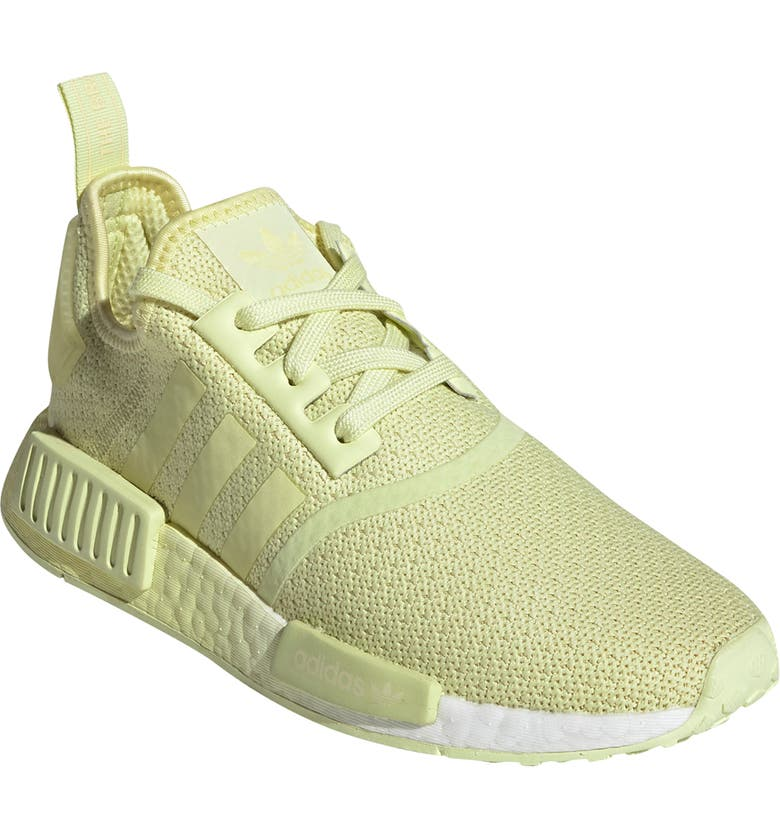 ADIDAS NMD_R1 Sneaker, Main, color, YELLOW TINT/ WHITE