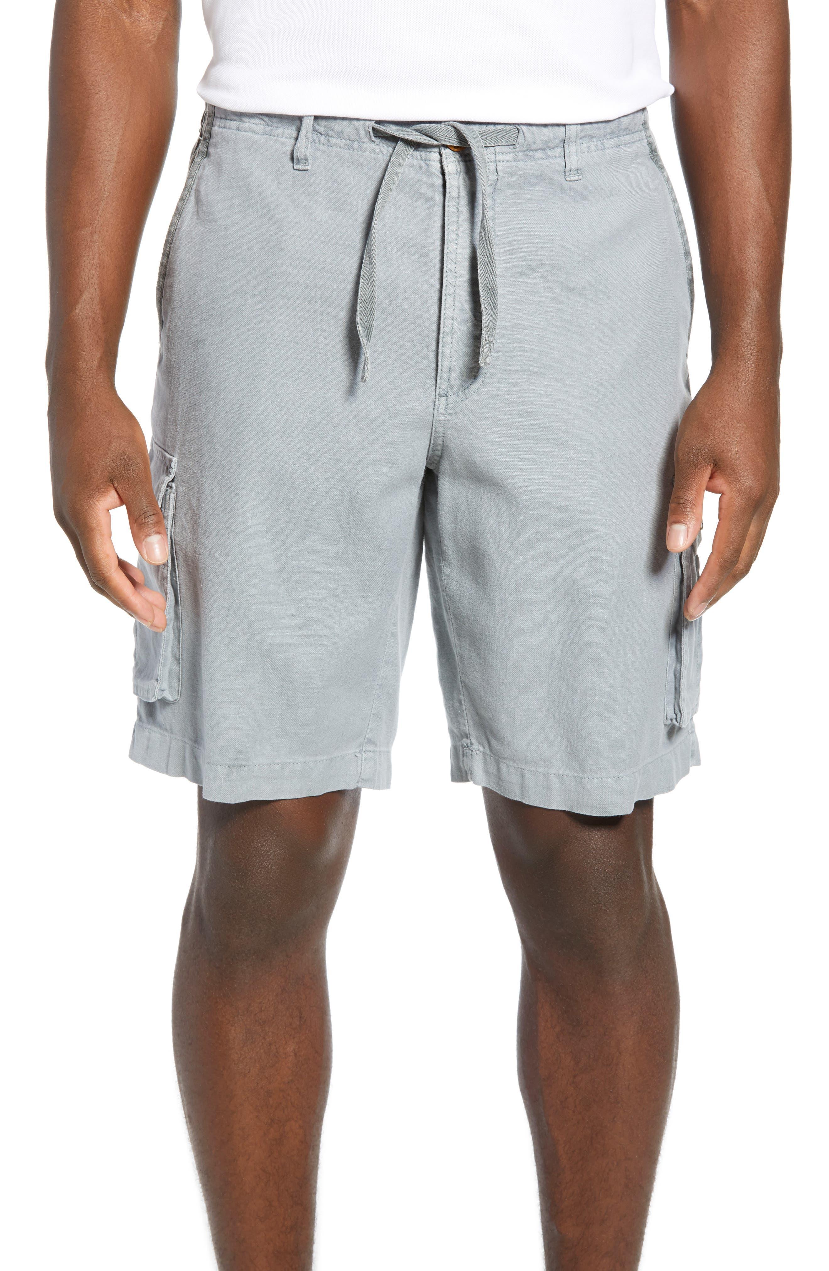 Tommy Bahama Soleil Beach Cargo Shorts, Grey