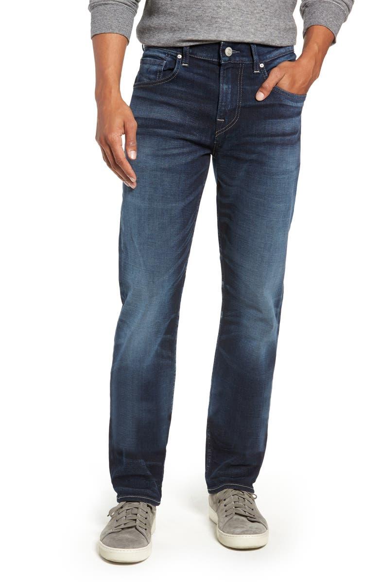 HUDSON JEANS Byron Slim Straight Leg Jeans, Main, color, 422