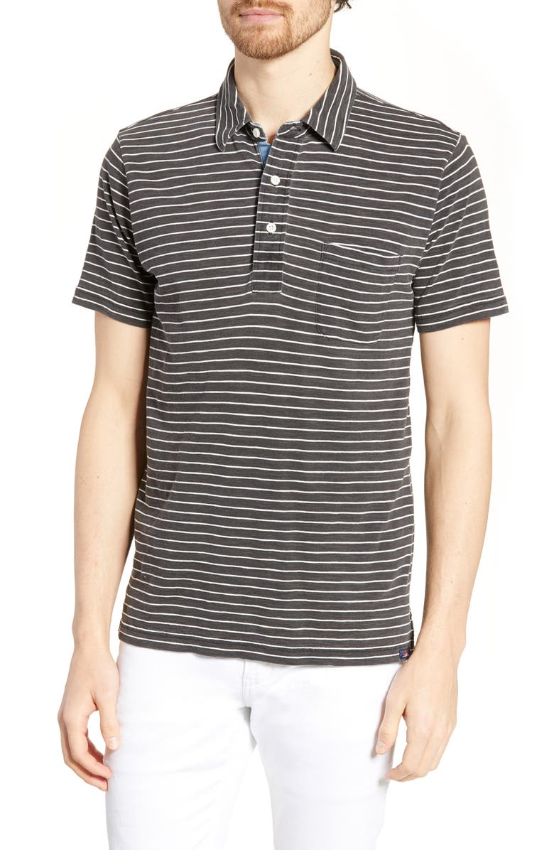 FAHERTY Stripe Polo, Main, color, 001