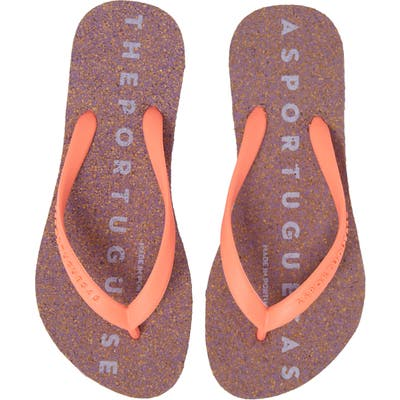 Asportuguesas By Fly London Base 000 Flip Flop, 1/42 - Coral