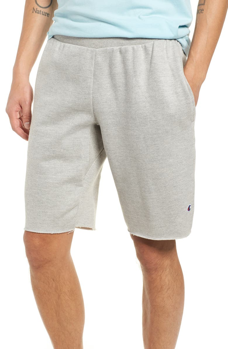 CHAMPION Reverse Weave Shorts, Main, color, OXFORD GRAY