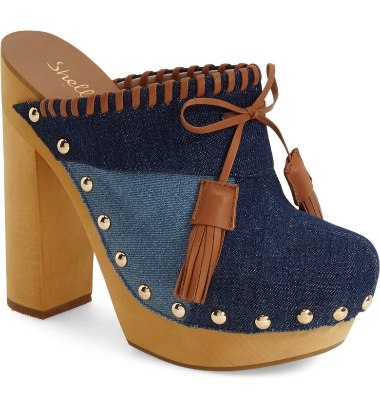 SHELLYS LONDON 'Kennedy' Patchwork Clog, Main, color, 460