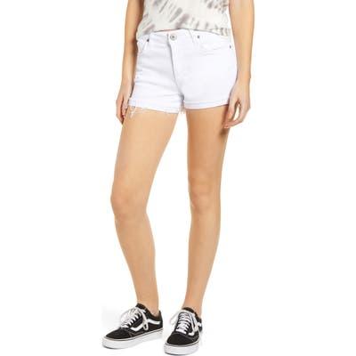 Sts Blue Molly High Waist Cutoff Denim Shorts, 7 - White