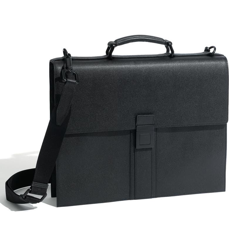 038e55b5aaf Burberry Leather Messenger Bag | Nordstrom