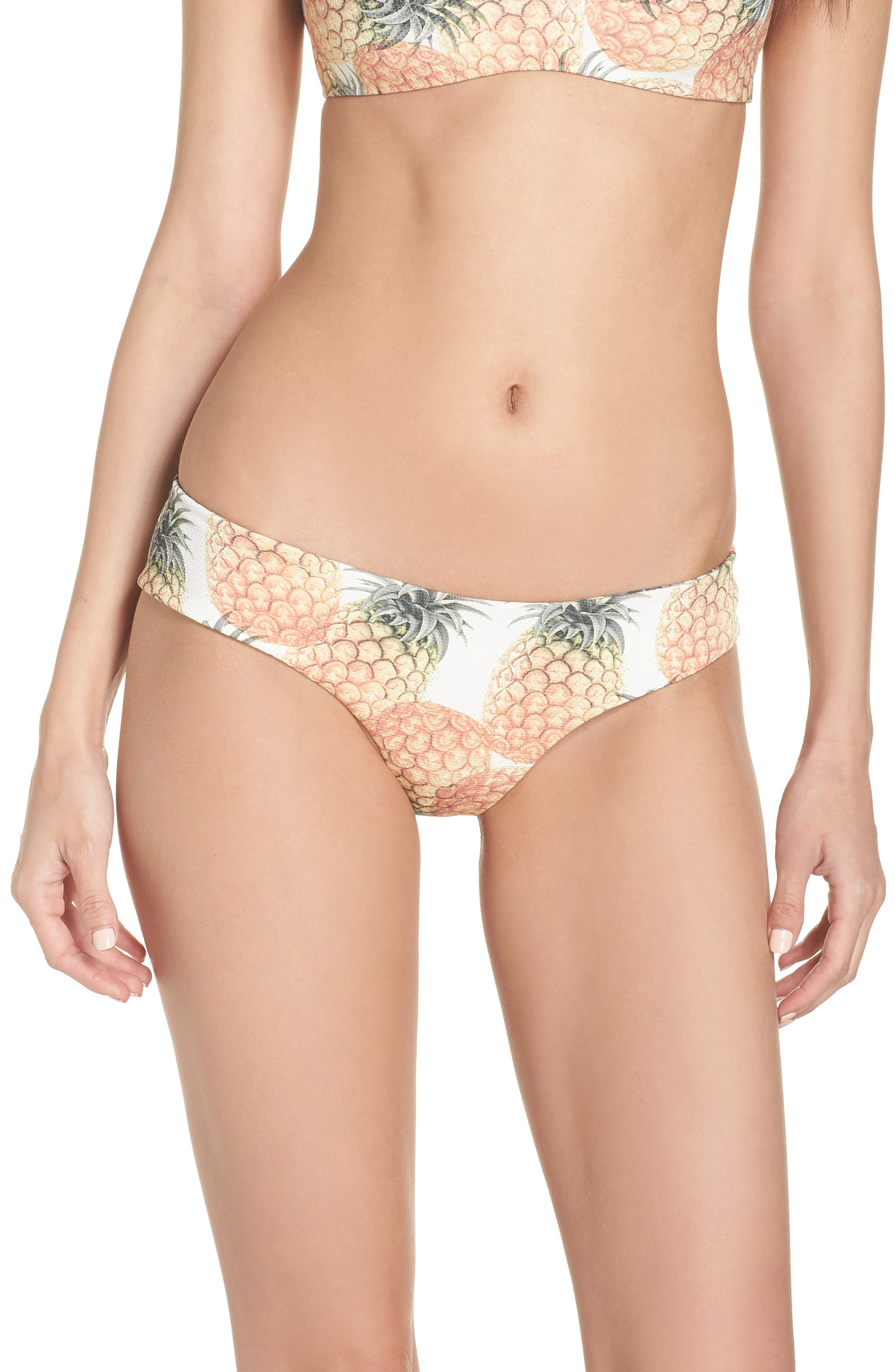 Boys + Arrows Yaya The Yuppy Bikini Bottoms, Yellow