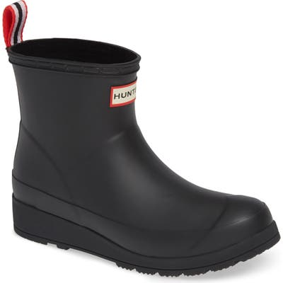 Hunter Original Play Waterproof Rain Bootie, Black