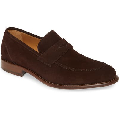 J & m 1850 Bryson Penny Loafer, Brown
