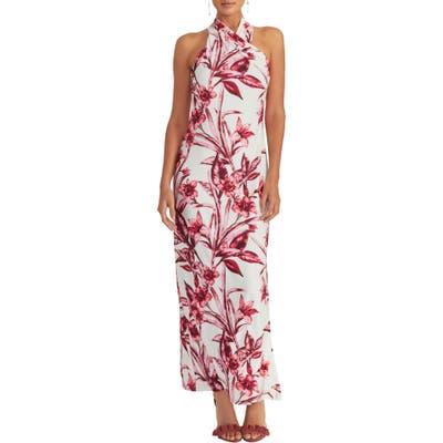 Rachel Rachel Roy Harlan Print Jersey Maxi Dress, Ivory
