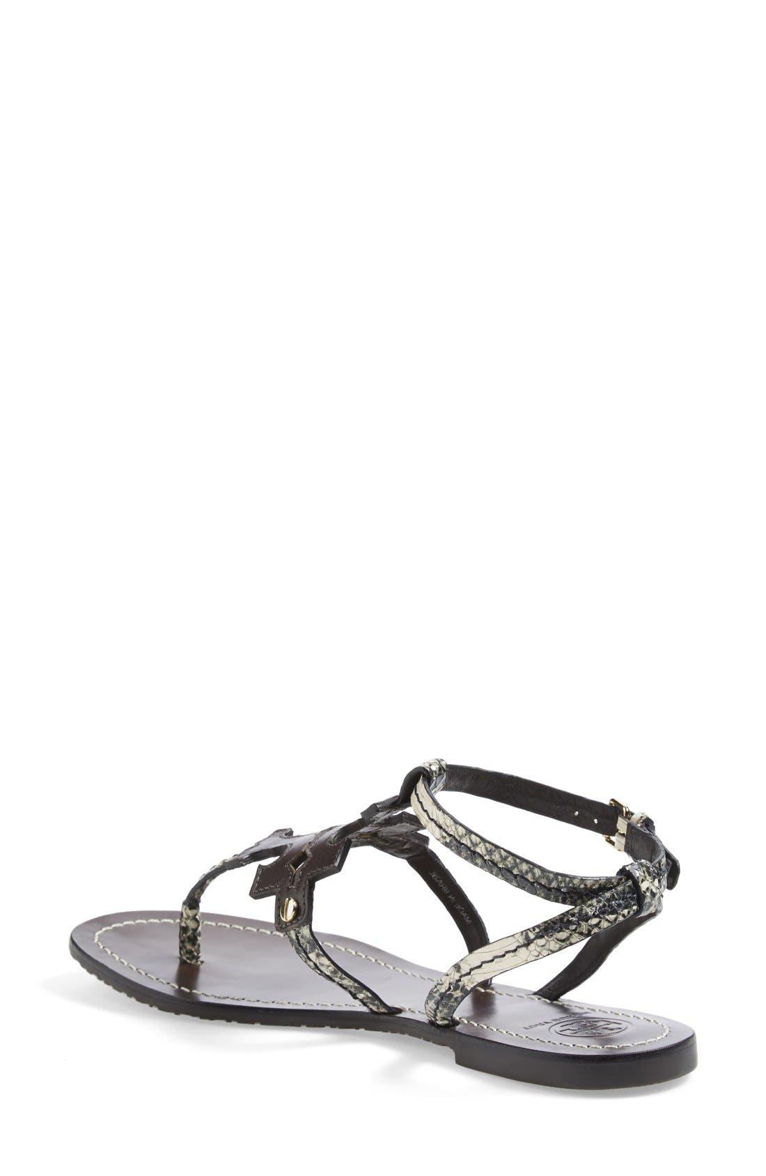 ,                             'Chandler' Leather Sandal,                             Alternate thumbnail 2, color,                             200