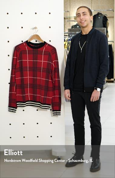 MVP Plaid Merino Wool Crewneck Sweater, sales video thumbnail