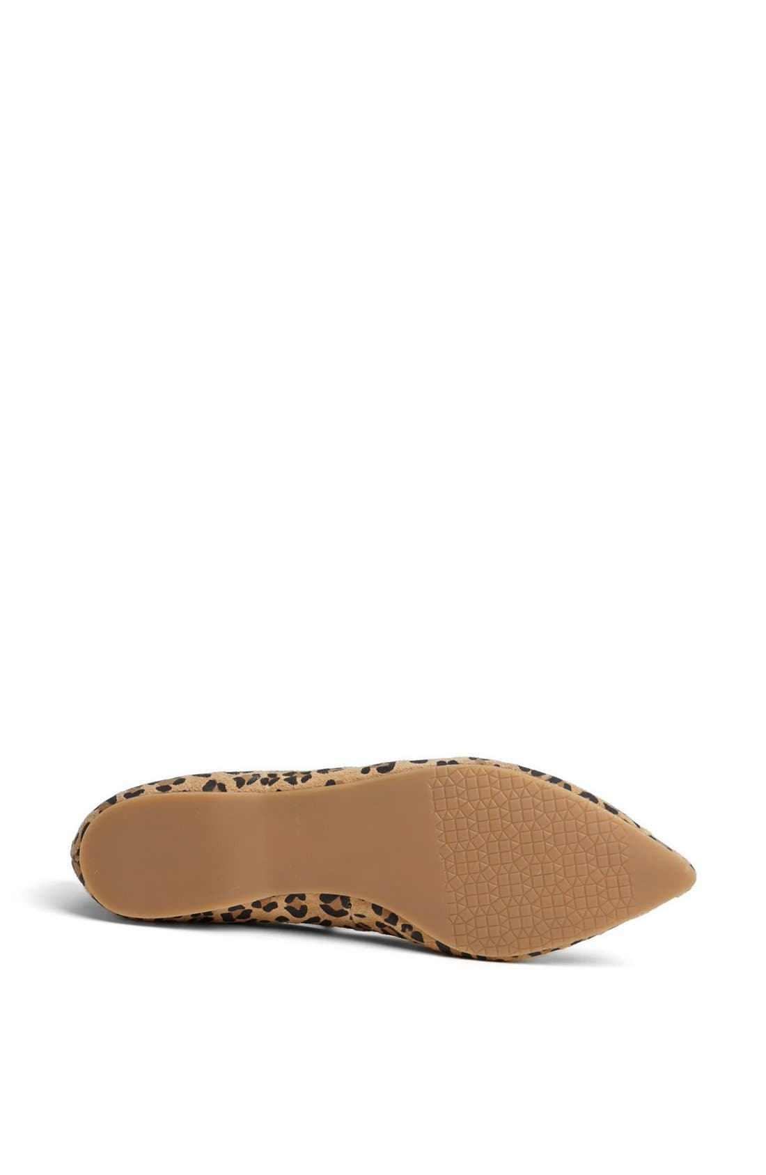 ,                             'Moveover' Pointy Toe Leather Flat,                             Alternate thumbnail 10, color,                             200