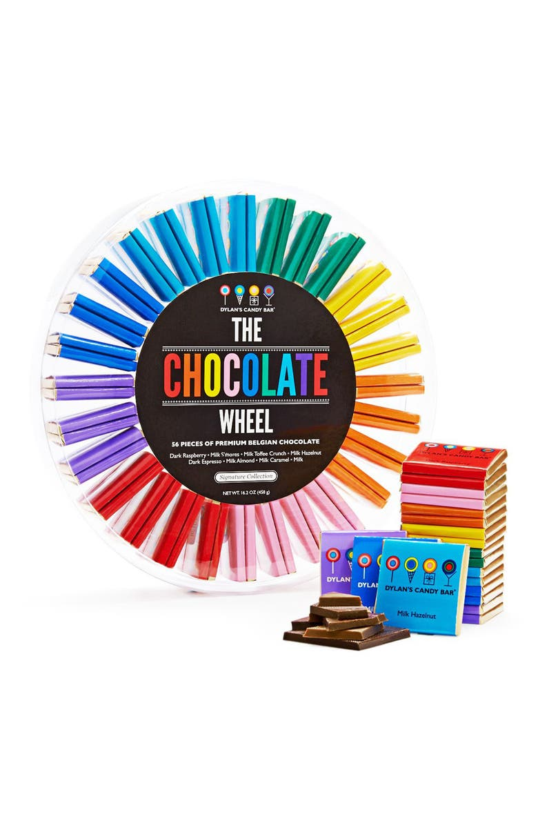 DYLAN'S CANDY BAR Signature Chocolate Wheel, Main, color, 400