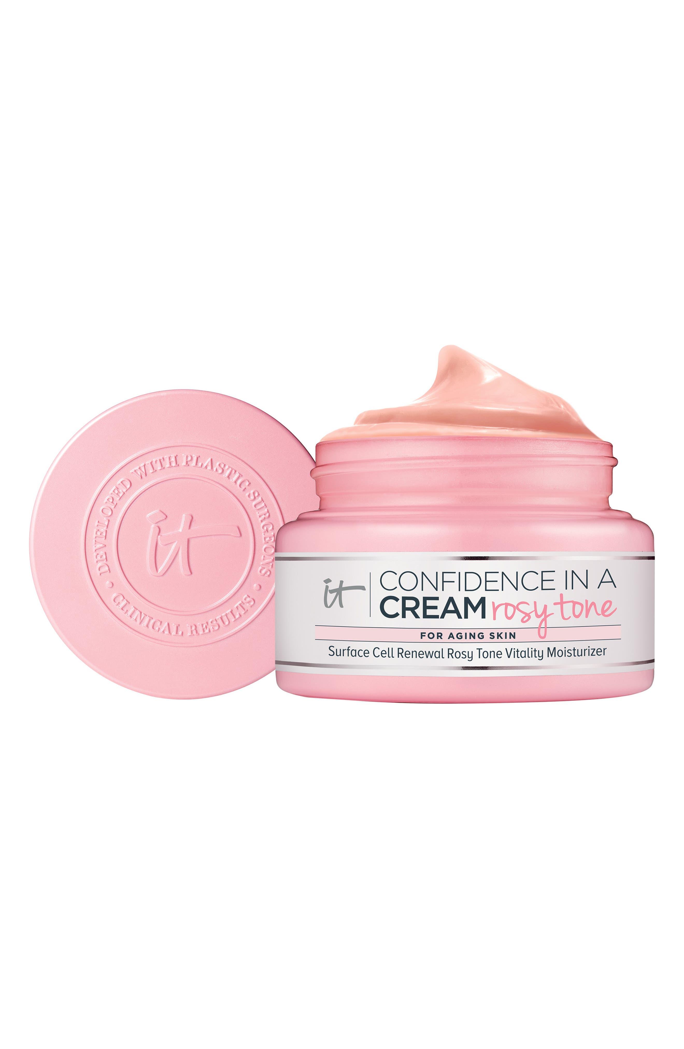 Rosy Tone Confidence In A Cream