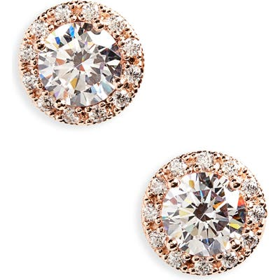 Nordstrom Pave Stud Earrings
