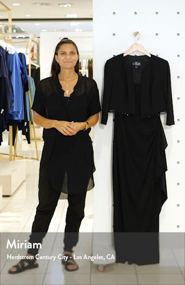 Ruched Gown with Bolero, sales video thumbnail