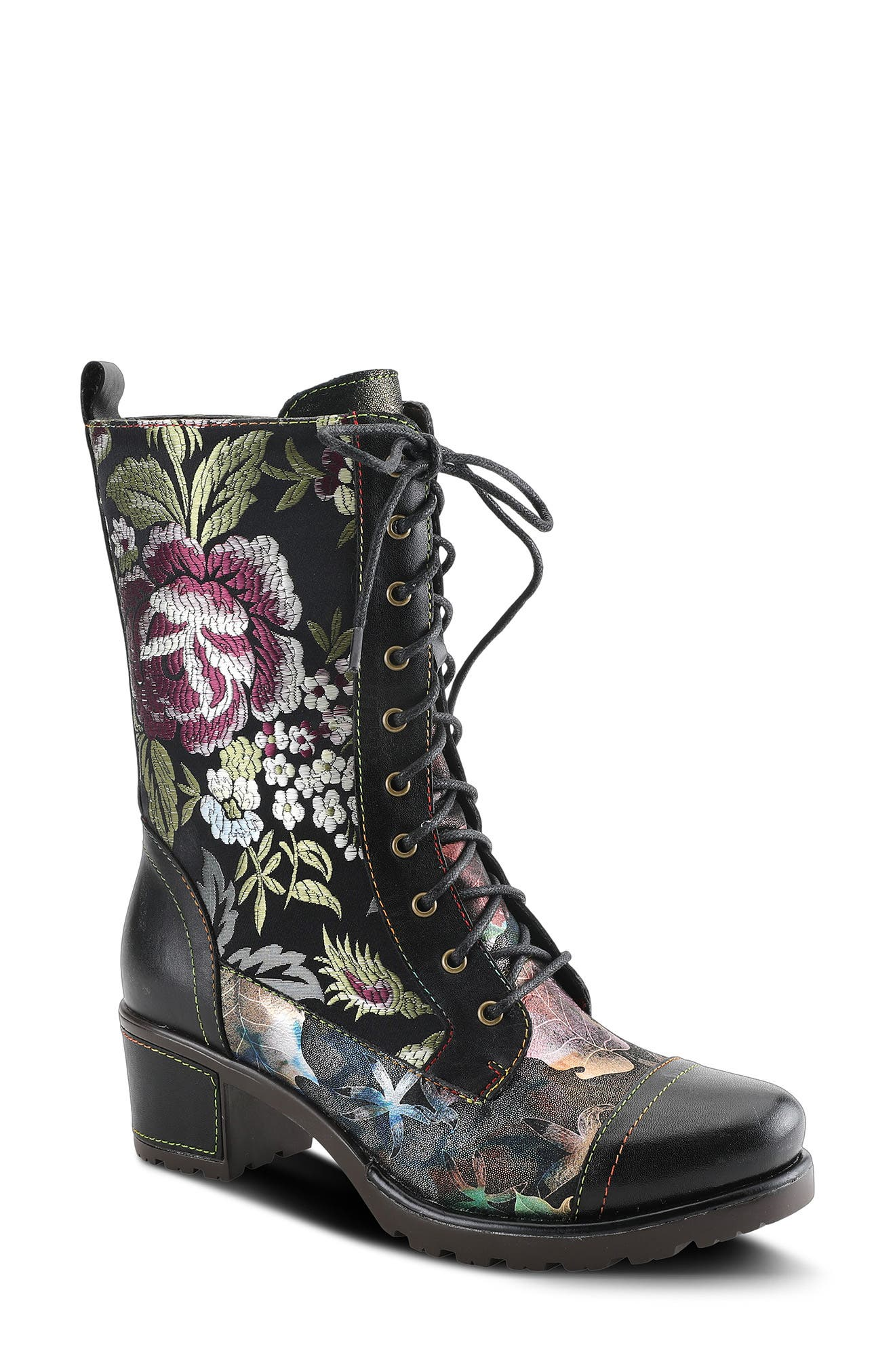 Stylista Lace-Up Boot